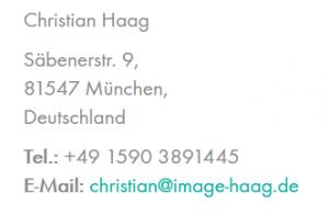 Christian Haag modern art painting
